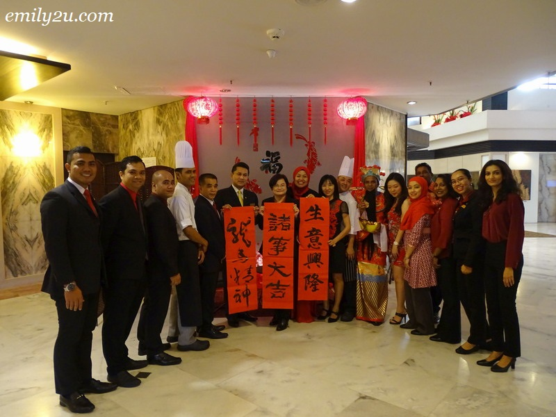 2. the management team of Impiana Hotel Ipoh