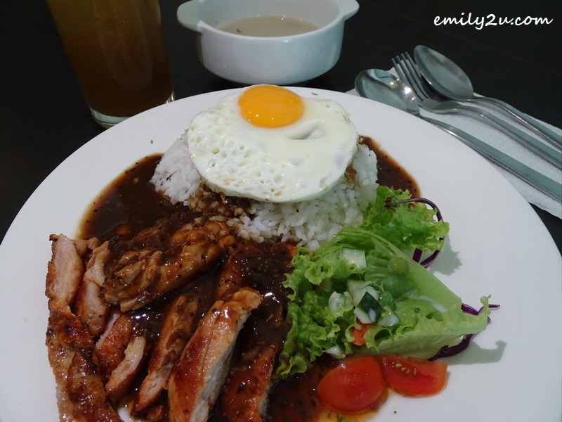 4. Black Pepper Chicken Chop