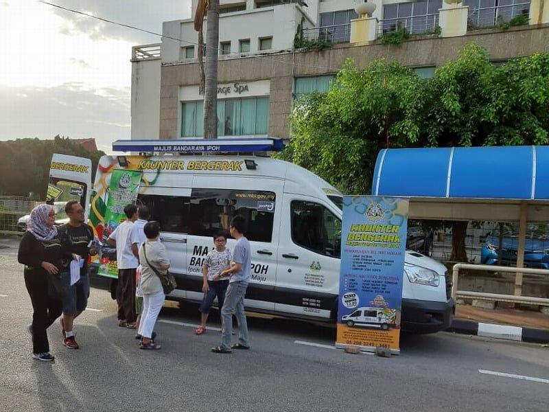 4. Ipoh City Council mobile kiosk