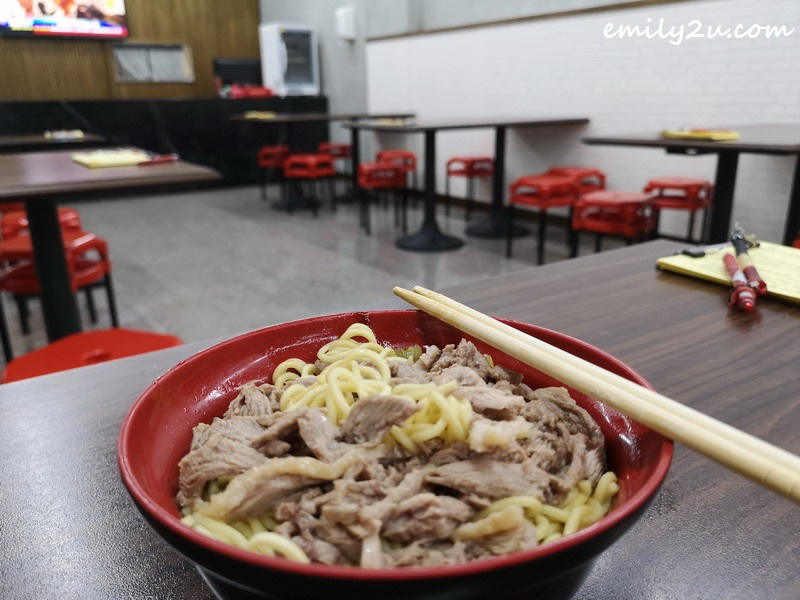 duck noodles at 斗六門當歸鴨麵線 for NT$60