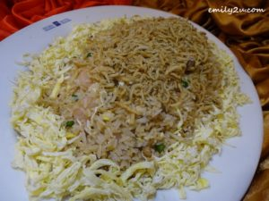 8 Menu A Golden Anchovies Fried Rice