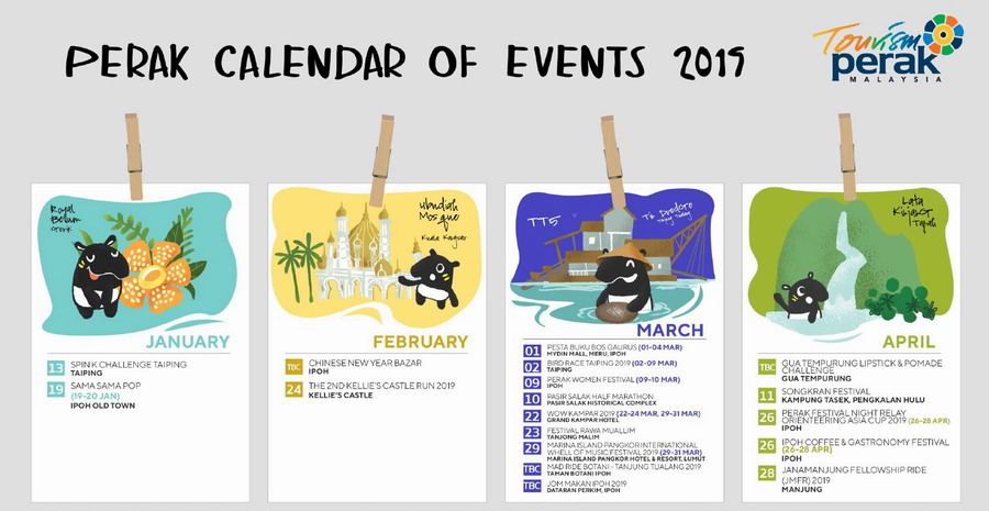 Perak Calendar of Events 2019