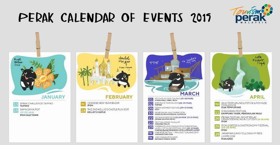 Perak Calendar of Events 2019