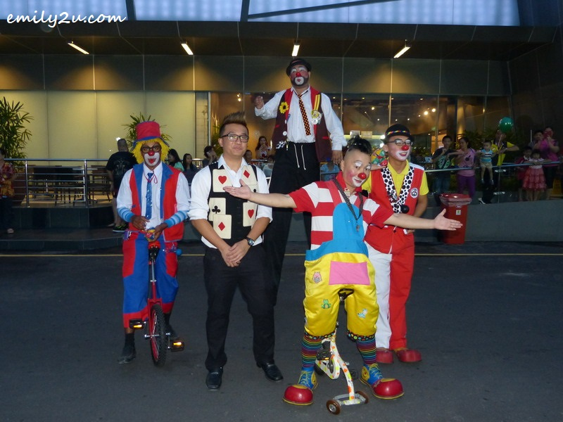 5. Au Young the Clown and his posse