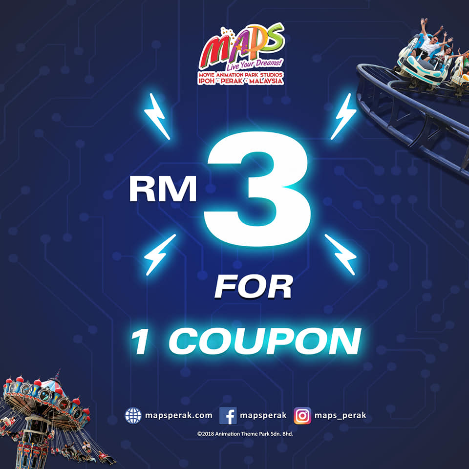 Pay-to-Play at RM3 per coupon