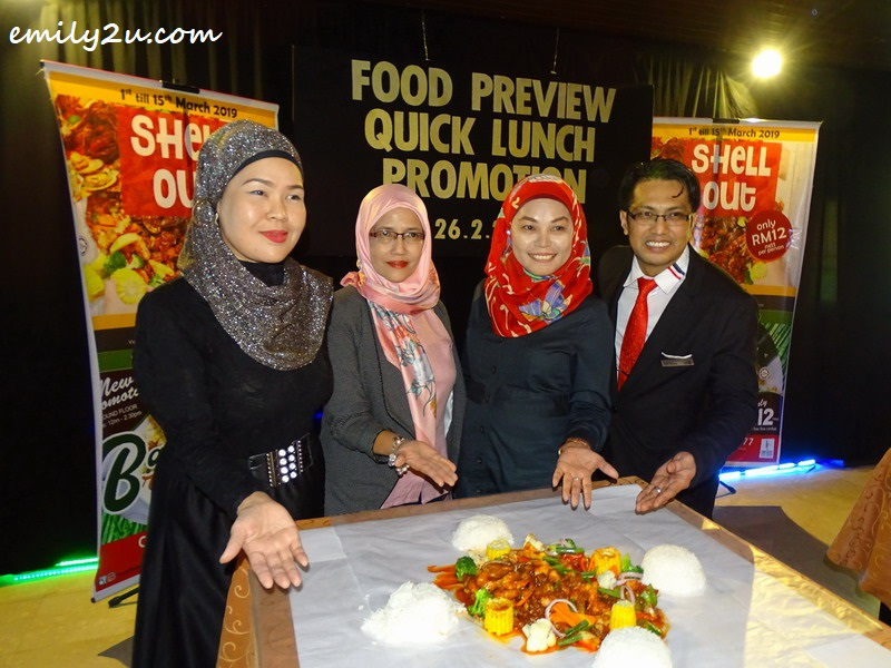 1. Tower Recency Hotel team introduces Shell Out