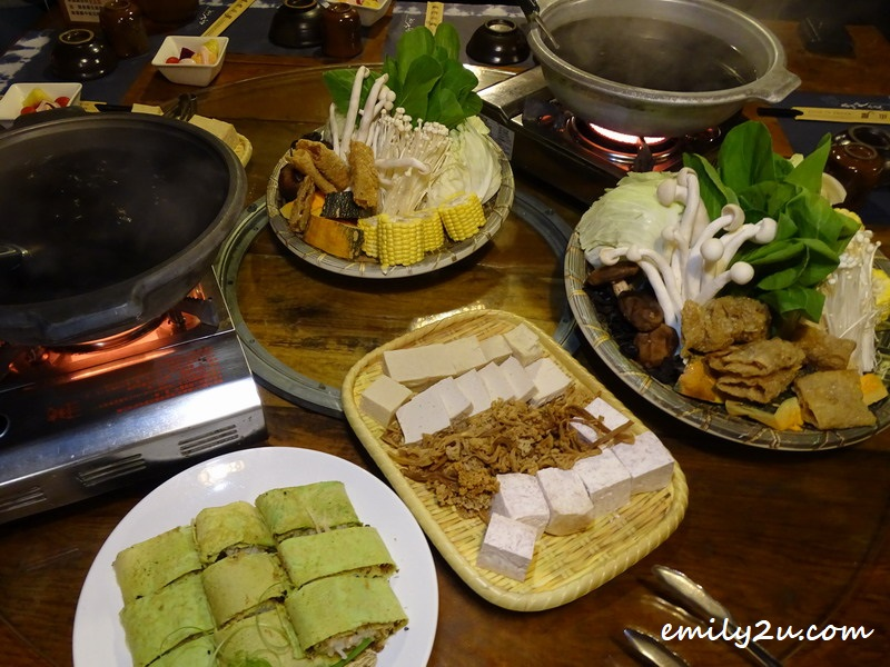 vegetarian steamboat