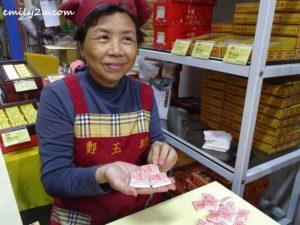 12 2nd generation proprietress of Cheng Yu Chen in Lukang