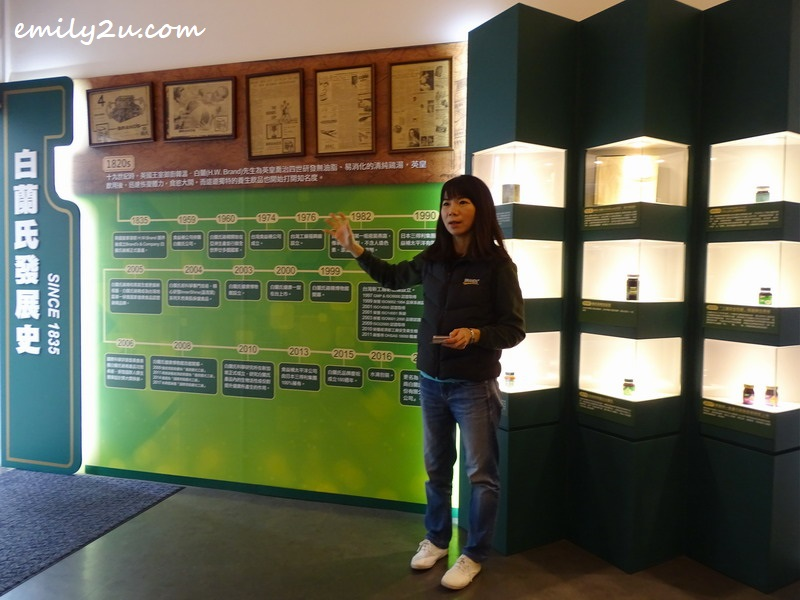 a tour conducted by museum manager, Ruby Wu