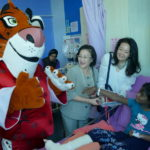 Spreading Valentine's Day Love and Care to Child Patients at UMMC