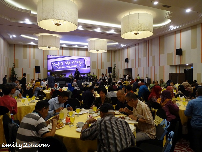 4. at the ballroom of Impiana Hotel Ipoh