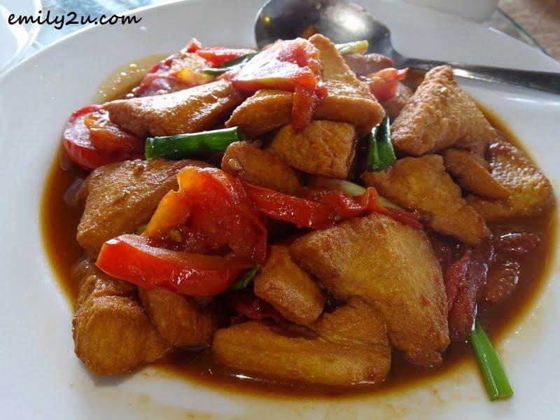 Hakka-style Tomato-fried Tofu