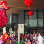Jaw-dropping Acrobatic Lion Dance Performance at WEIL Hotel to Welcome a New Lunar Year