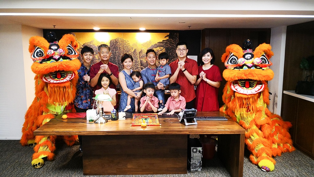 Gong Xi Fa Cai from the owners of WEIL Hotel, Ipoh