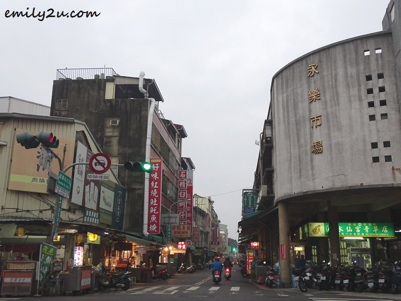 to the street food haven of Guohua Street in Tainan