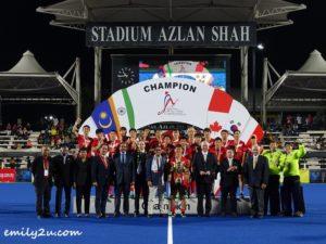 10 Sultan Azlan Shah Cup (SAS)