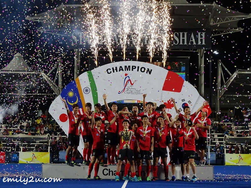 Korea's 3rd Sultan Azlan Shah Cup