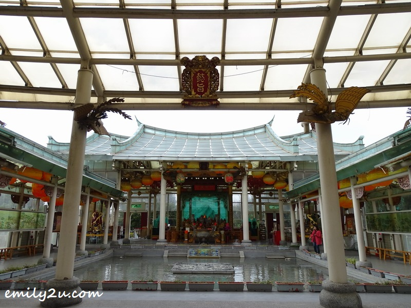 glass Mazu temple
