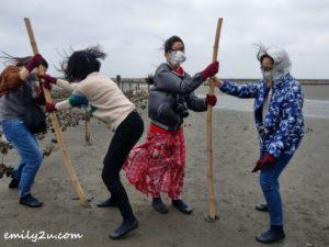 11 oyster harvesting