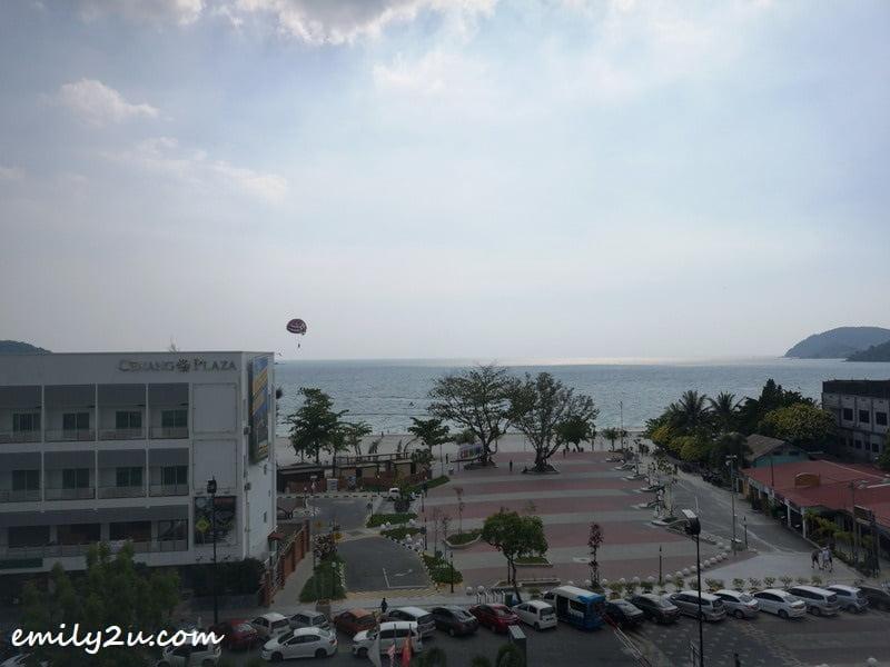 overlooking Cenang beach