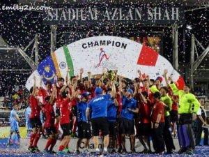 12 Sultan Azlan Shah Cup (SAS)