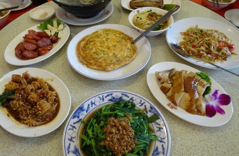 A Hokkien Lunch at A Bi Han Ten (阿美飯店) @ Taipei, Taiwan