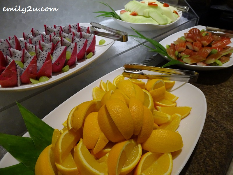 cut fruits