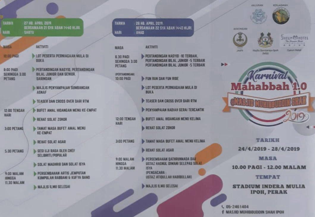 program Karnival Mahabbah