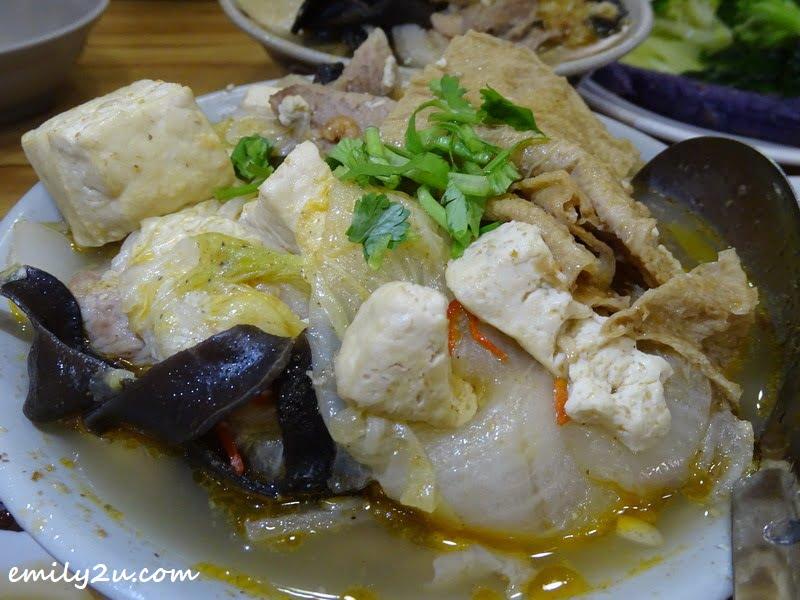 casserole fish head
