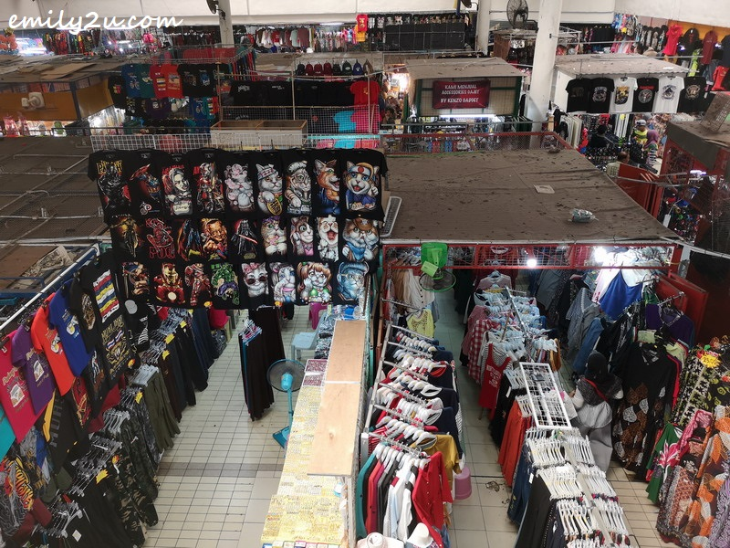 4. Arked Niaga as viewed from the first floor