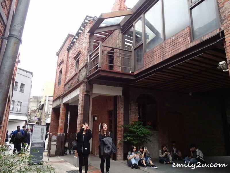 bopiliao historic block old street taipei taiwan from