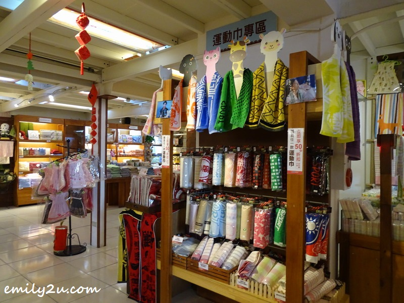 various towel products