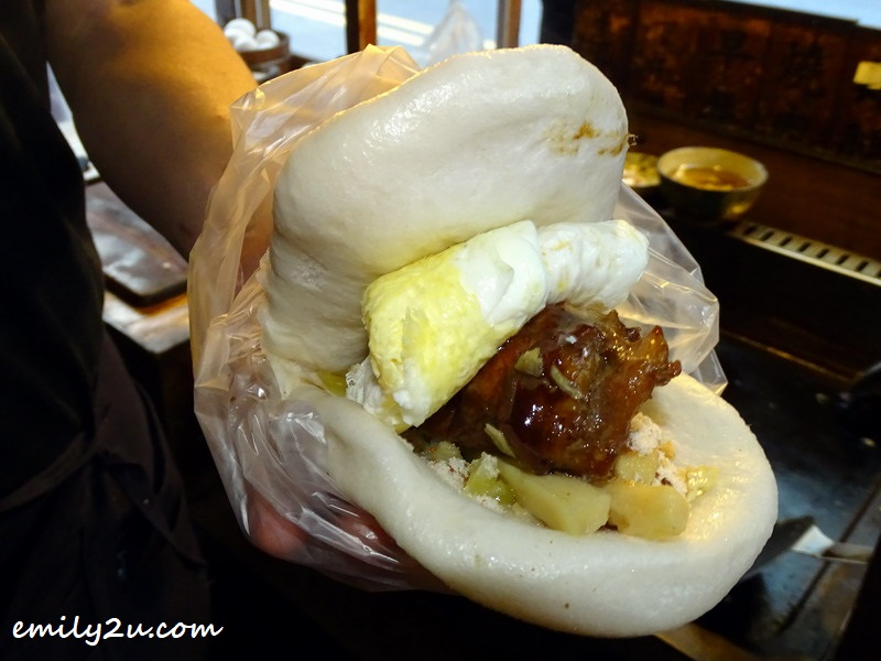 meat mantou