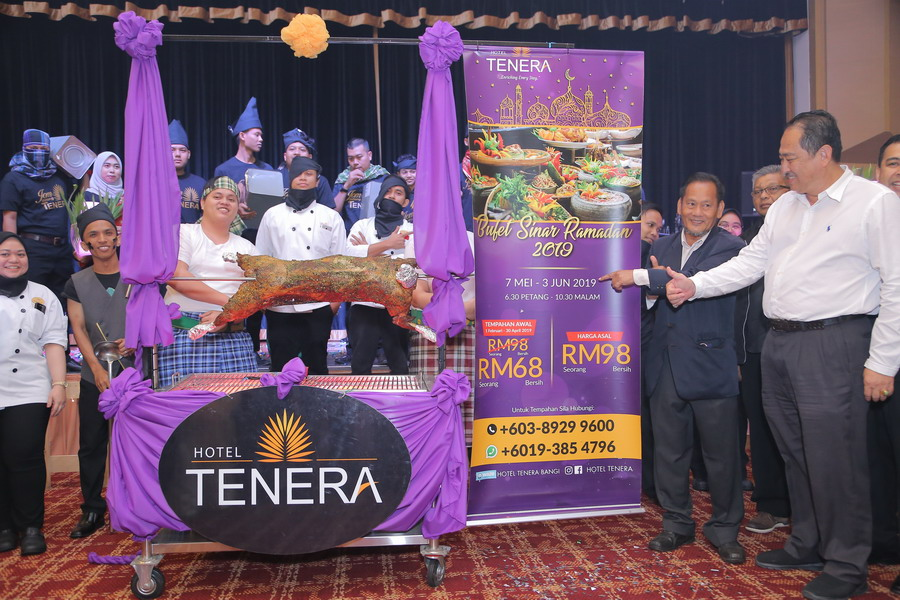 pricing for Hotel Tenera's Ramadan buffet