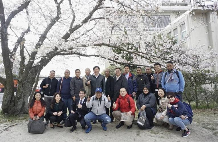 Perak Menteri Besar Leads Delegation to Fukuoka, Japan