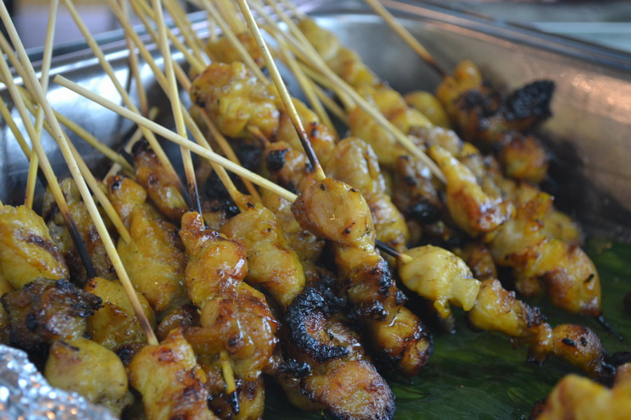 Satay with Condiments & Sauce
