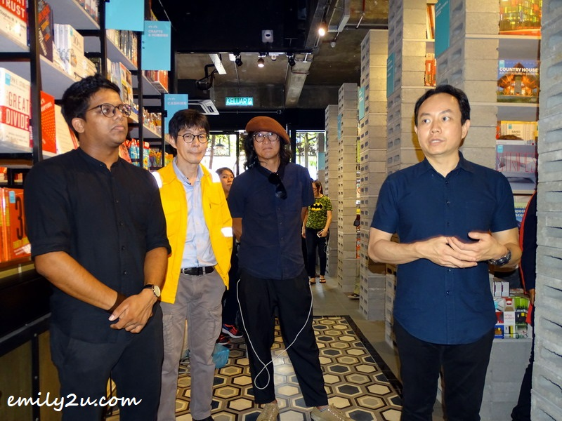 Andrew Yap, founder of BookXcess and the Big Bad Wolf Book Sale (R), introduces his bookstore
