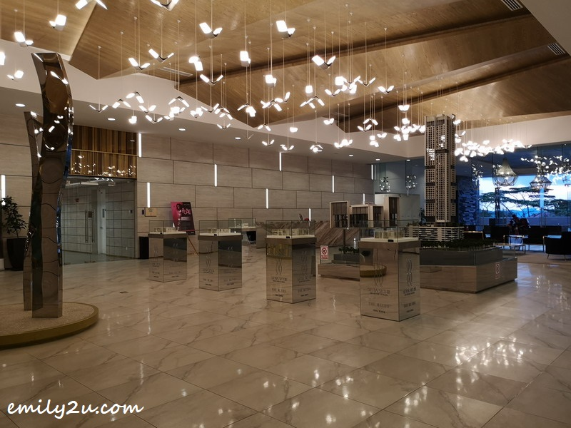 lobby of Tower B