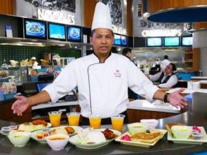 Medan Selera Chef Hapizi Hussain, Sous Chef of SkyAvenue F_B introducing the Ramadan Menu at Medan Selera