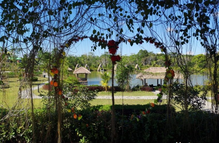 Desa Wisata Ekang D' Bamboo Kamp @ Lagoi Bay, Bintan, Indonesia
