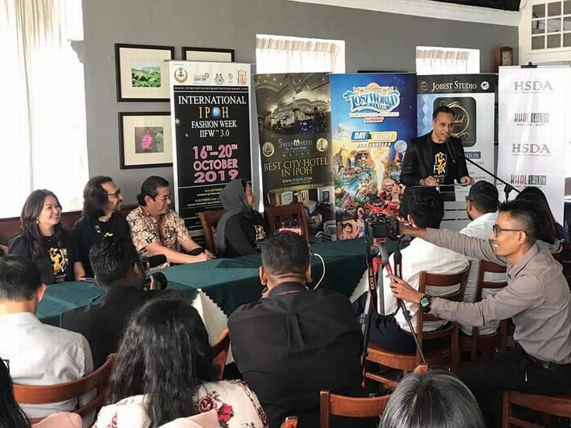 press conference for International IPOH Fashion Week (IIFW™) 2019