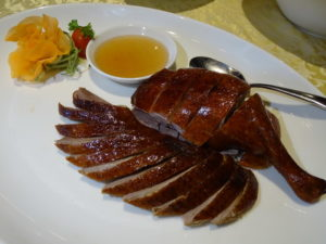 11 Signature Smoked Duck with Lychee Wood