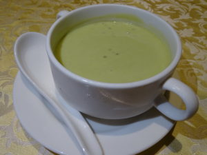 13 Chilled Avocado Puree with Sago