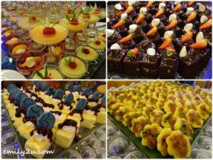 21 desserts
