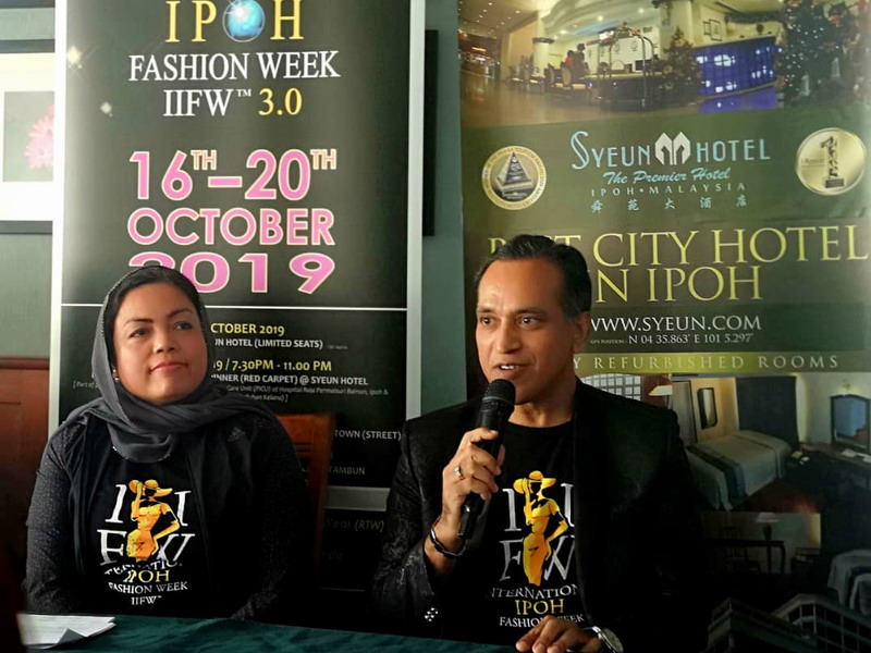 IIFW™ Founder-cum-CEO Louis Sebastian answers questions from media members