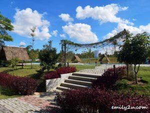 4 D Bamboo Kamp Bintan