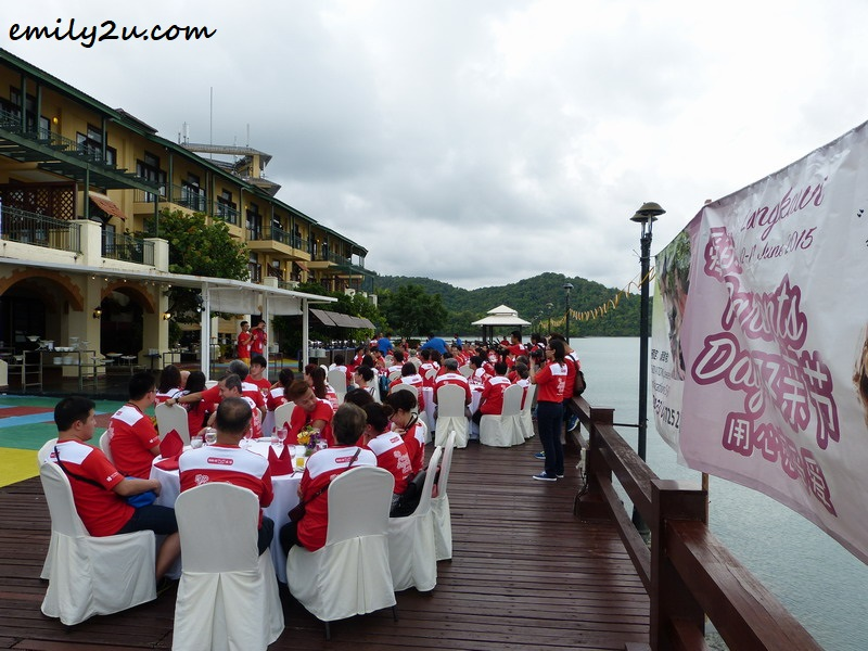 dinner at Resorts World Langkawi