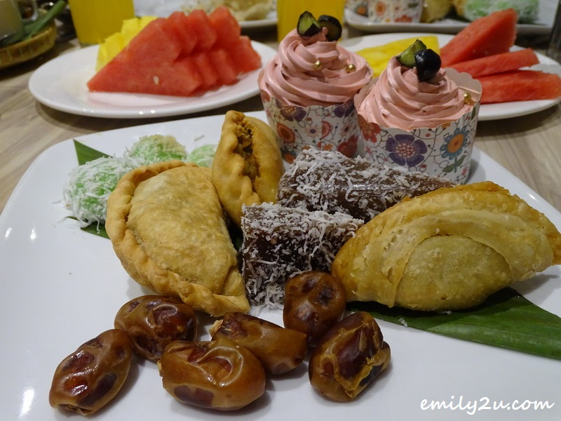 an assortment of desserts