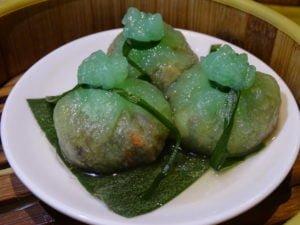 7 Steamed Vegetarian Dumpling