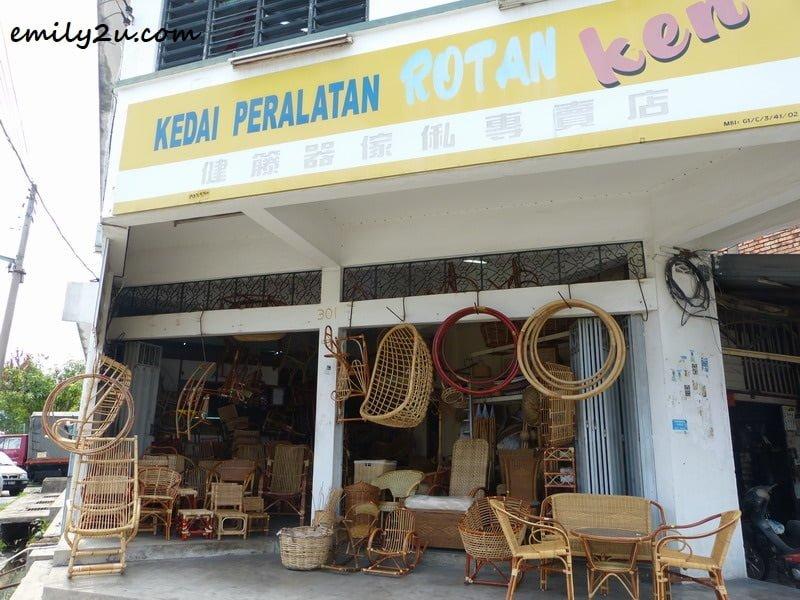 Chee's shop in Gunung Rapat, Ipoh